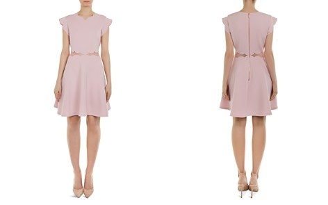 Ted Baker Omarria Scalloped Cutout Skater Dress - Bloomingdale's_2
