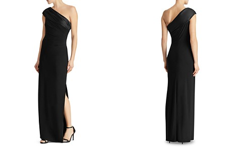 Lauren Ralph Lauren One-Shoulder Jersey Gown - Bloomingdale's_2