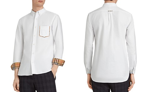 Burberry Harry Check-Accented Regular Fit Shirt - Bloomingdale's_2