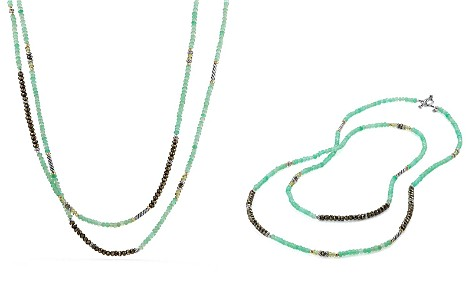 David Yurman Tweejoux Bead Necklace in Chrysoprase, Pyrite & Peridot with 18K Gold - Bloomingdale's_2