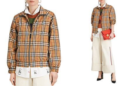 Burberry Corfe Vintage Check Print Jacket - Bloomingdale's_2