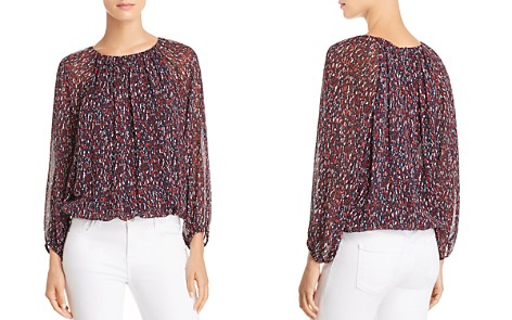 Joie Briseis Silk Top - Bloomingdale's_2