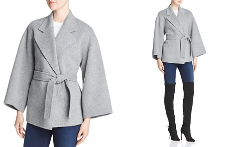 Theory Wool & Cashmere Belted Jacket - Bloomingdale's_2