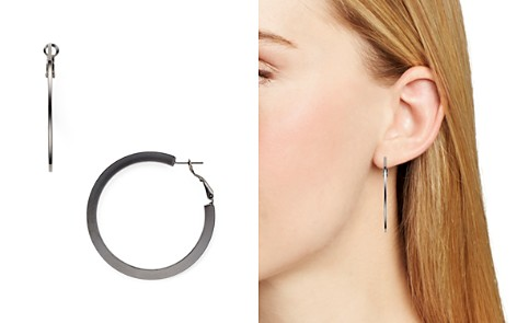 AQUA Thin Hoop Earrings - 100% Exclusive - Bloomingdale's_2