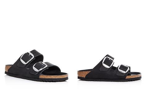 Birkenstock Women's Arizona Big Buckle Leather Slide Sandals - Bloomingdale's_2