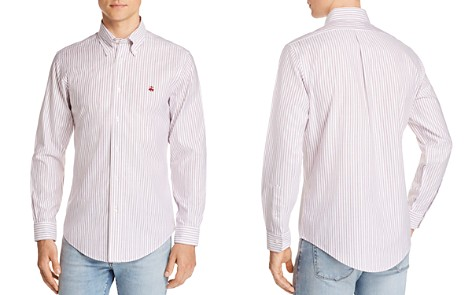Brooks Brothers Regent Non-Iron Striped Slim Fit Button-Down Shirt - Bloomingdale's_2