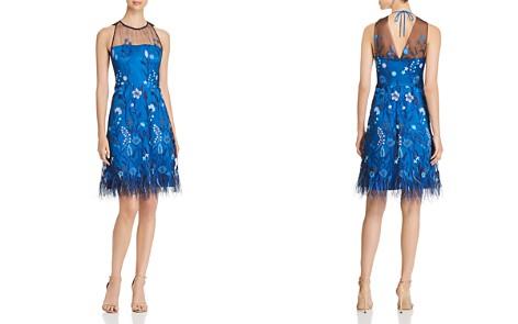 Elie Tahari Litsa Embroidered Mesh Dress - Bloomingdale's_2