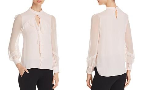 Elie Tahari Vianna Ruffled Silk Top - Bloomingdale's_2