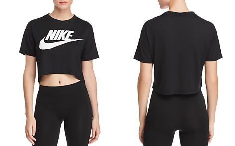 Nike Essential Logo Cropped Tee - Bloomingdale's_2