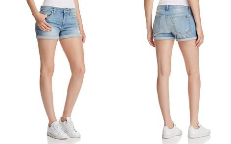 Joe's Jeans Rolled Denim Shorts in Geneva - Bloomingdale's_2