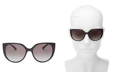 Dolce&Gabbana Women's Line Cat Eye Sunglasses, 54mm - Bloomingdale's_2