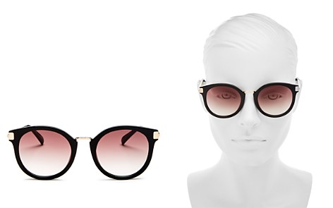 Le Specs Women's Last Dance Round Sunglasses, 51mm - Bloomingdale's_2
