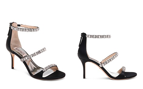 Badgley Mischka Yasmine Embellished Satin Sandals - Bloomingdale's_2