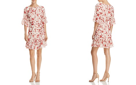 Rebecca Minkoff Wendy Ruffled Floral-Print Dress - Bloomingdale's_2