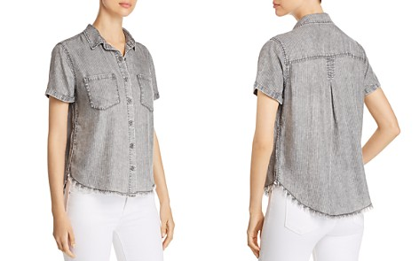 Billy T Striped Chambray Shirt - Bloomingdale's_2