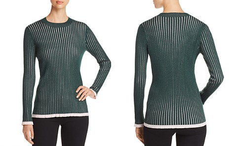 Burberry Tygart Ribbed Sweater - Bloomingdale's_2