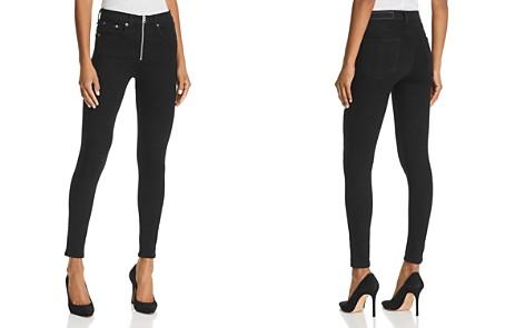 rag & bone/JEAN Onslow High-Rise Skinny Jeans in Black - 100% Exclusive - Bloomingdale's_2