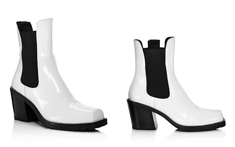 Creatures of Comfort Women's Crawford Square Toe Patent Leather Mid-Heel Booties - Bloomingdale's_2