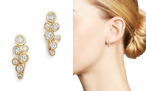 Bloomingdale's Diamond Bezel-Set Drop Earrings in 14K Yellow Gold, 0.35 ct. t.w. - 100% Exclusive_2