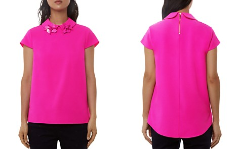 Ted Baker Ammah Embellished Collar Top - Bloomingdale's_2