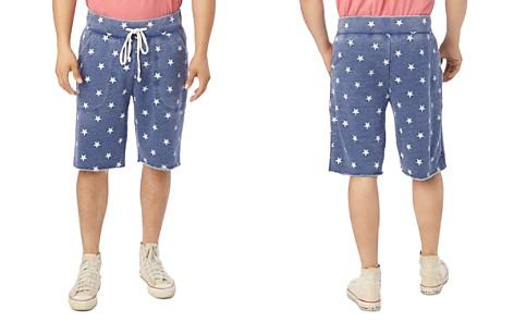 ALTERNATIVE Victory Star-Print Fleece Sweat Shorts - Bloomingdale's_2