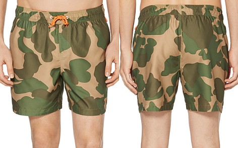 Original Penguin Reversible Camouflage-Print Swim Shorts - 100% Exclusive - Bloomingdale's_2