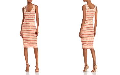 Ronny Kobo Alula Striped Knit Dress - Bloomingdale's_2
