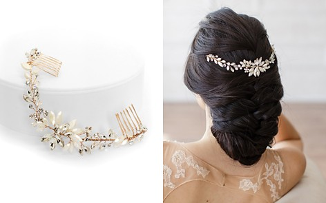 Brides and Hairpins Rhea Crystal Halo Comb - Bloomingdale's_2