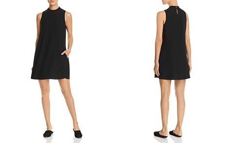 Eileen Fisher Silk A-Line Mini Shift Dress - Bloomingdale's_2