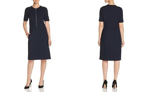 Lafayette 148 New York Demi Partial-Zip Paneled Dress - Bloomingdale's_2