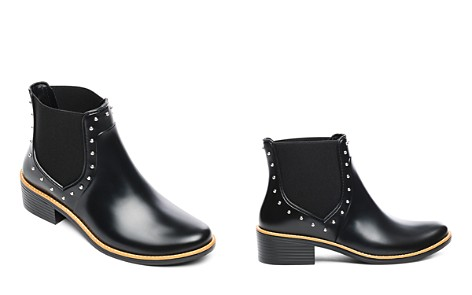 Bernardo Peyton Studded Rubber Rain Ankle Boots - Bloomingdale's_2