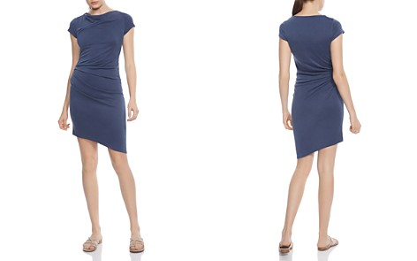 HALSTON HERITAGE Draped Jersey Dress - Bloomingdale's_2