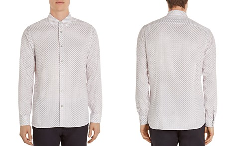 Ted Baker Festpol Polynosic Regular Fit Button-Down Shirt - Bloomingdale's_2