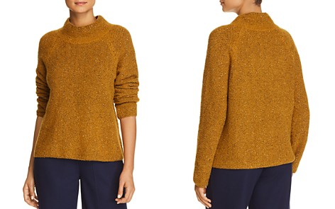 Eileen Fisher Funnel-Neck Sweater - Bloomingdale's_2