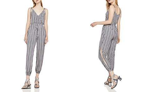 BCBGeneration Striped Crossover Jumpsuit - Bloomingdale's_2