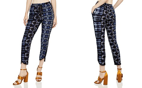 BCBGeneration Printed Cropped Jogger Pants - Bloomingdale's_2