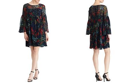 Lauren Ralph Lauren Floral Georgette Dress - Bloomingdale's_2