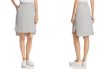Eileen Fisher Speckled Knit High/Low Skirt - Bloomingdale's_2