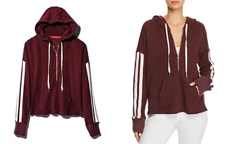 n PHILANTHROPY Electra Striped-Sleeve Hooded Sweatshirt - 100% Exclusive - Bloomingdale's_2