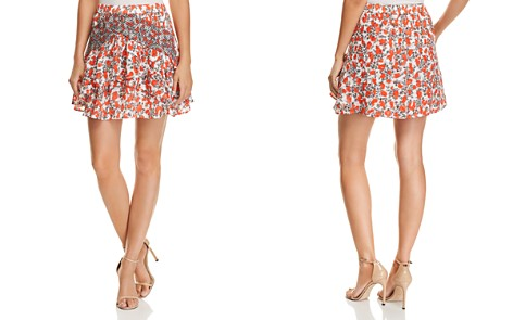 IRO.JEANS Secrets Printed Mini Skirt - Bloomingdale's_2