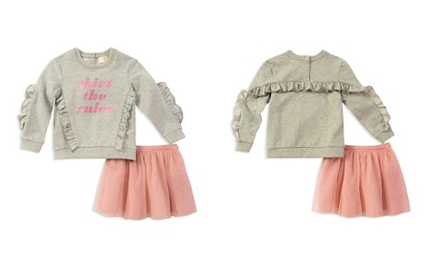 kate spade new york Girls' Skirt the Rules Sweatshirt & Tulle Skirt Set - Little Kid - Bloomingdale's_2