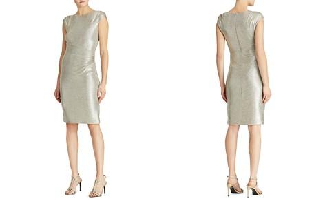 Lauren Ralph Lauren Metallic Sequin Dress - Bloomingdale's_2