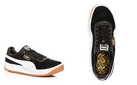 PUMA Men's California Casual Leather & Suede Lace-Up Sneakers - Bloomingdale's_2