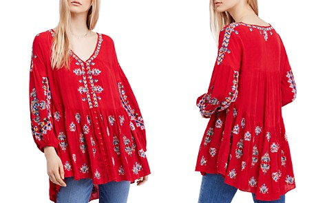 Free People Arianna Embroidered Tunic - Bloomingdale's_2