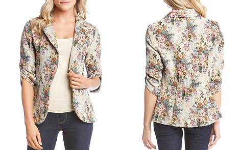 Karen Kane Tapestry-Inspired Floral Peplum Jacket - Bloomingdale's_2