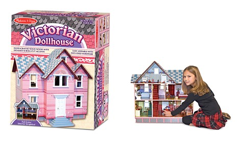 Melissa & Doug Victorian Dollhouse Set with Furniture and Family - Ages 6+ - Bloomingdale's_2