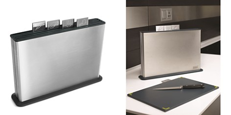 Joseph Joseph Index 100 Collection Chopping Board Set, Stainless Steel - Bloomingdale's_2