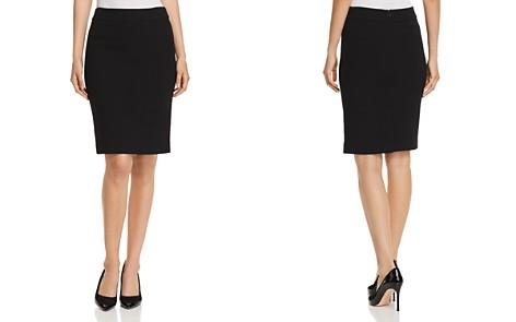 Emporio Armani Wool Pencil Skirt - Bloomingdale's_2