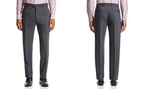 Emporio Armani Tonal-Stitch Tailored Fit Pants - Bloomingdale's_2
