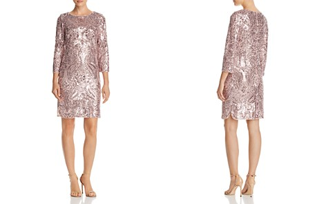 AQUA Sequined Shift Dress - 100% Exclusive - Bloomingdale's_2